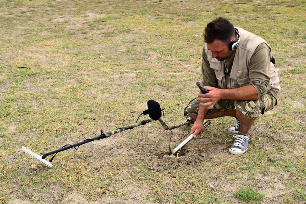 digging a plug