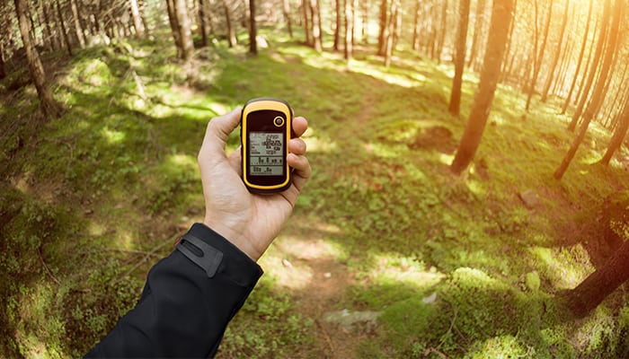 geocaching-gps-device