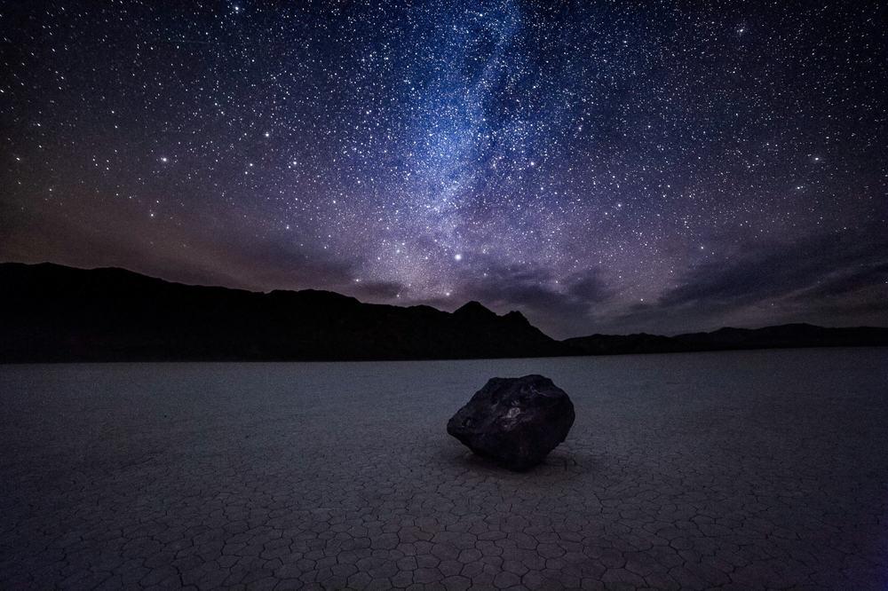 night sky death valley