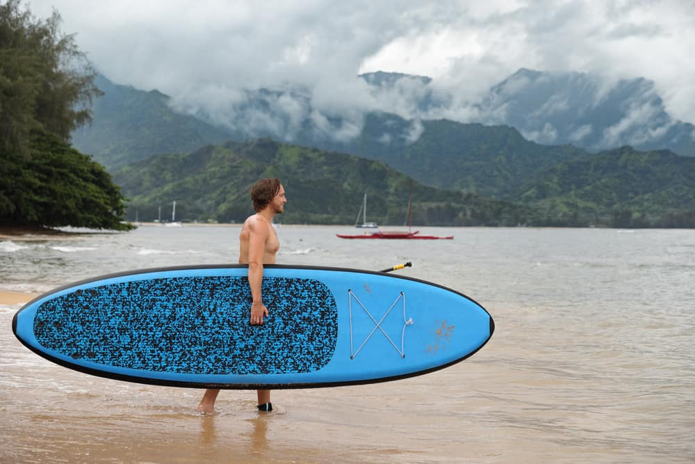 stand up paddle boarding kauai hawaii