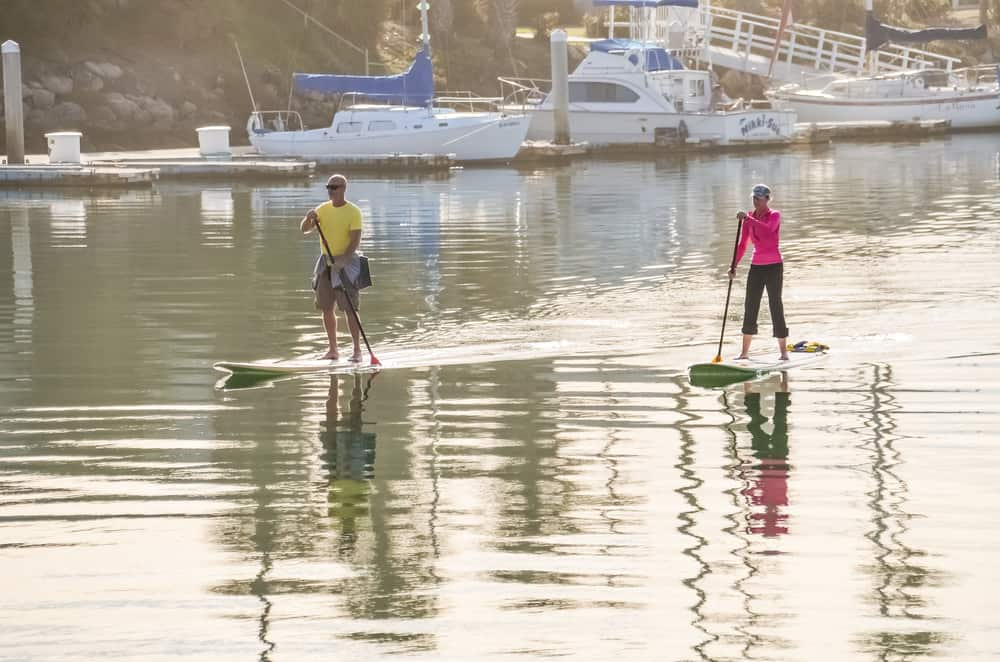 stand up paddle boarding california
