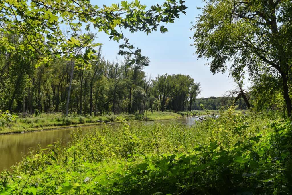 Hidden Lake Trail Fontenelle Forest
