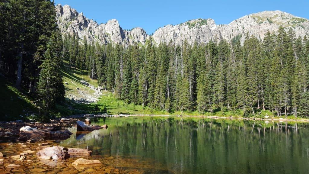 Trampas Lake Trail, New Mexico
