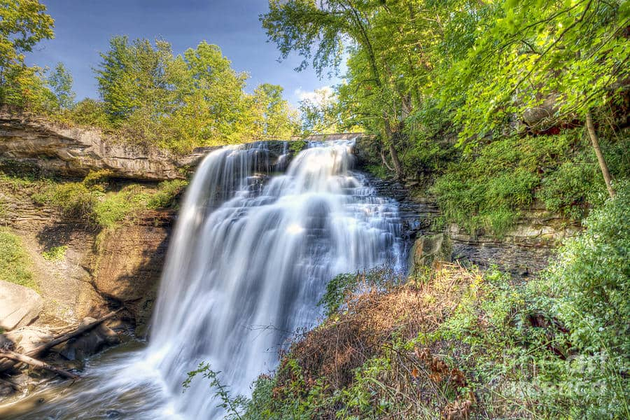 Brandywine Falls Trails, Cuyahoga Valley National Park, Ohio