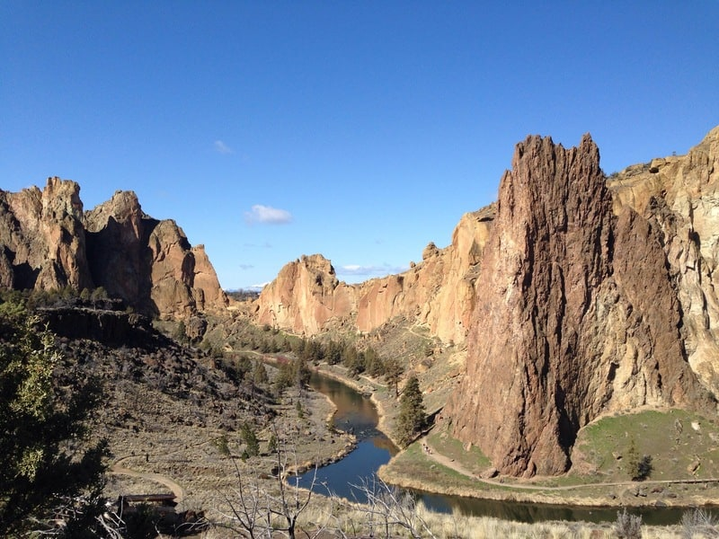 Canyon to Rim Loop, Smith Rock State Park, Oregon
