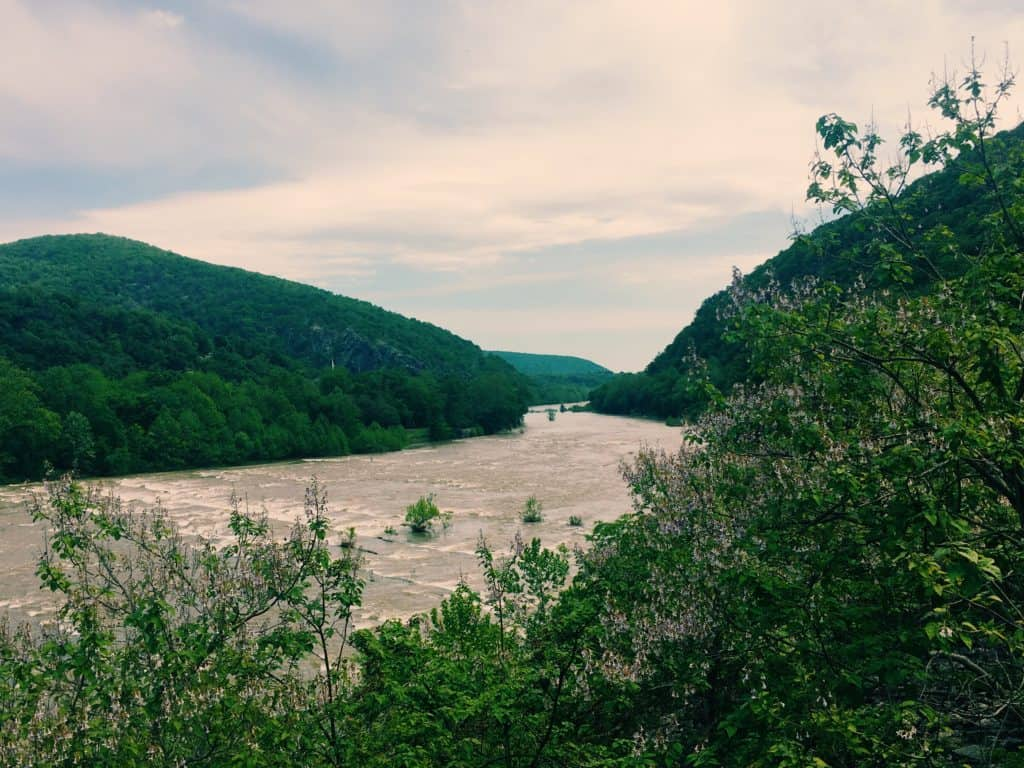 Loudon Heights Trail, Harpers Ferry National Historical Park, West Virginia