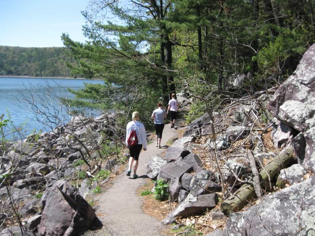 Tumbled Rocks Trail, Devil's Lake State Park, Wisconsin