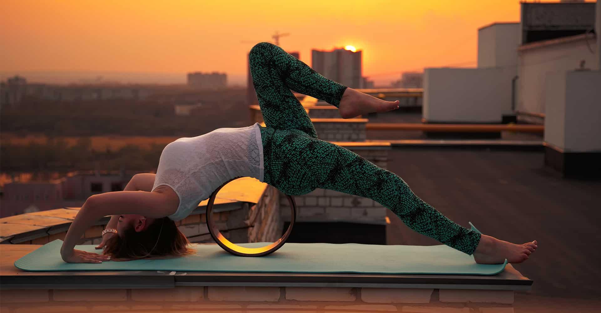e0c1b2821b 5 Best Yoga Wheels Reviewed For Deep Poses & Better Flexibility [2019]
