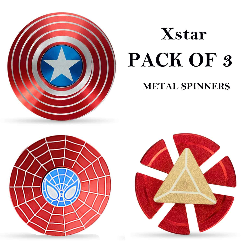 superhero fidget spinners