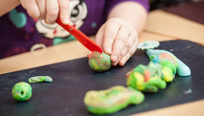 kids play dough