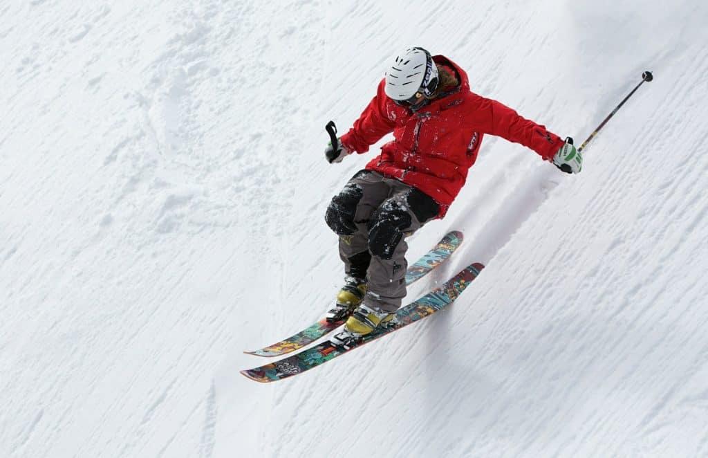 skiing extreme terrain