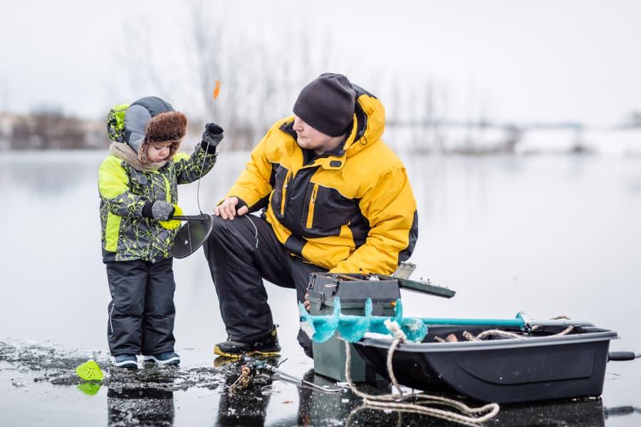 Ice fishing clothing