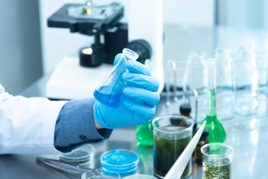 laboratory dna test