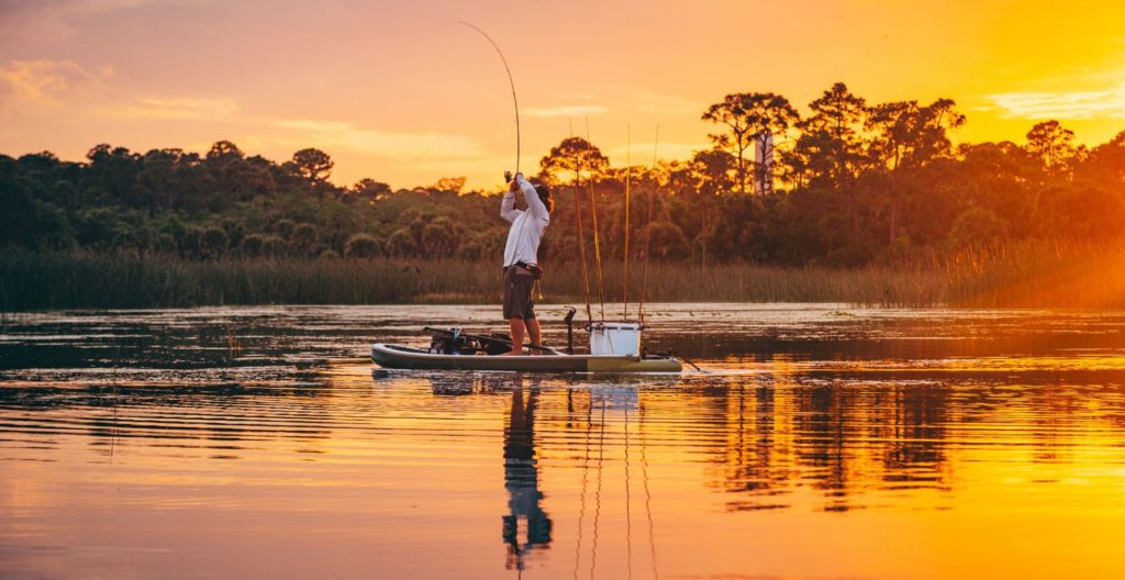 best-paddle-board-for-fishing