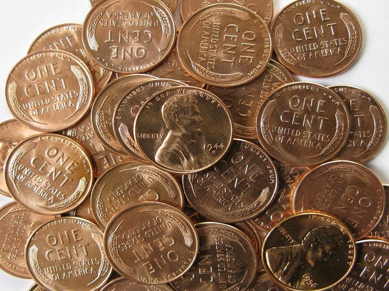 1957 wheat penny values